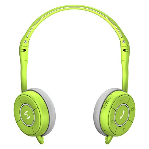 Moudio M100 Wireless Stereo Bluetooth Smart Headphones, Activity Calorie Tracker, Fitness Monitor, Sports Headset, Music Streaming, Hands-Free voice calls With Android and IOS APP (green)
