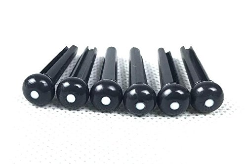 golitonr-100pcs-dot-head-string-guitar-nails-pont-pin-cones-string-massif-noir