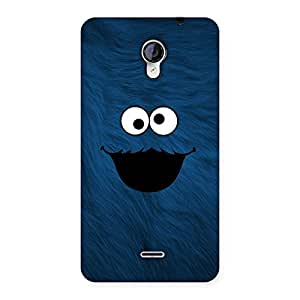 Blue Funny Ghost Back Case Cover for Micromax Unite 2 A106