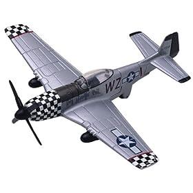 P-51 Mustang 1/100 Die Cast Model