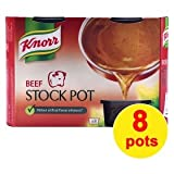 Knorr Beef Stock Gel Pots 8 Pack 224g