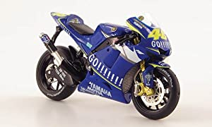 Yamaha YZR-M1, No.46, MotoGP , 2005, Model Car, Ready-made, IXO 1:24 by IXO