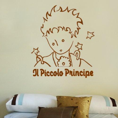 Il Piccolo Principe Ritratto - Adesivi Murali - Wall Stickers - per la decorazione della casa e della cameretta