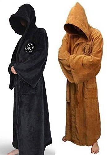 SMASH OUT Star Wars Hooded Unisex Bath Robe M L Size (M, Darth Vader)