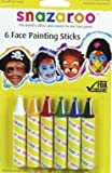 Snazaroo Face Painting Stick 6-Pack