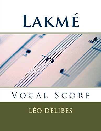 lakme-vocal-score-french