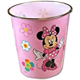 Disney Minnie Mouse Plastic Trash Can