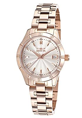 Invicta Women's 18127 Specialty 18k Rose Gold Ion-Plated Stainless Steel Watch