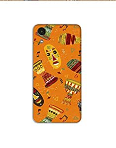 HTC Desire 626 Hand-drawn-colorful-african-pattern-01 Mobile Case (Limited Time Offers,Please Check the Details Below)