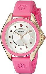 MICHELE Women's MWW27A000008 Cape Analog Display Analog Quartz Pink Watch