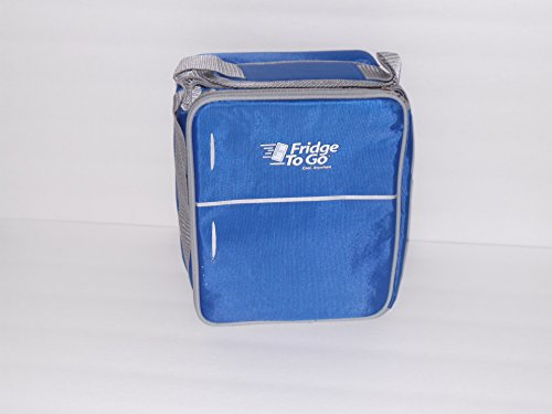 Fridge-To-Go FTG-3010 Mini Fridge Portable Cooling Tote, Blue - 1