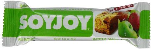 SOYJOY Bar, Apple Walnut, 1.05-Ounce Bars (Pack of 24)