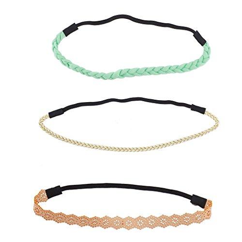 lux-accesorios-menta-peach-marfil-lazer-cut-panuelo-para-la-cabeza-elastica-trenzada-set-3pcs