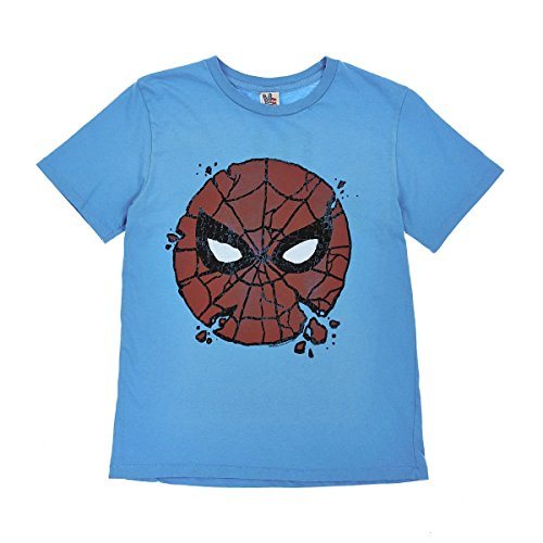 Junk Food Big Boys' Graphic Tee (Toddler/Kid) - Spider-Man I'm Amazing - 14/16