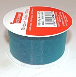 Blue and Purple Mesh Decorative Ribbon - Continuous 9 Foot Roll X 1.5 Inches Wide