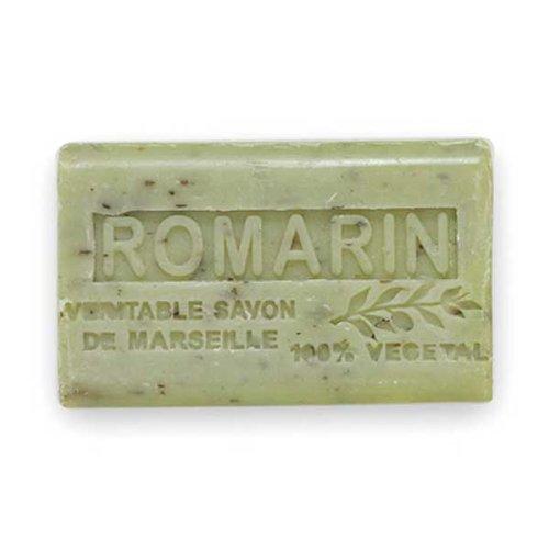 (南仏産マルセイユソープ)SAVON de Marseille ローズマリーの香り(SP016)(125g)