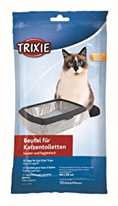 Trixie Cat Litter Tray Bags, 46  59 cm, 10 Pieces
