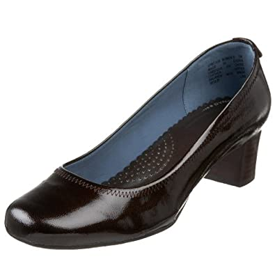 Rockport Women's Laurelwood Lane Pump,Fondente Leather,9 W US