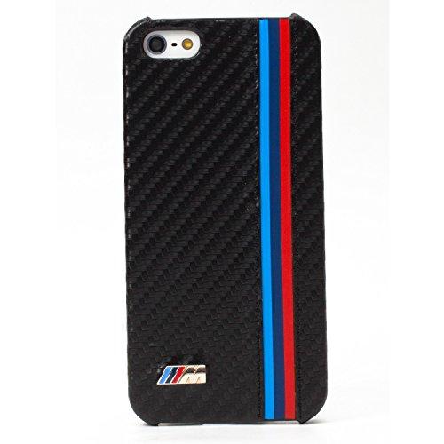 CG Mobile BMW iPhone 5C / 5 Carbon Fiber Effect Hard Case - Genuine BMHCPMMC