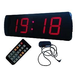 LED Large Digital Clock 4\