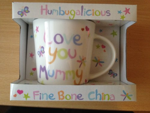 Humbugalicious Love You Mummy Boxed Mug , Birthday,