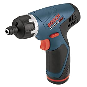 Bosch PS20-2A 12-Volt Max Lithium-Ion Pocket Driver with 2 Batteries