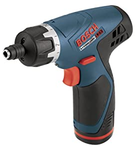 Bosch PS20-2A 12-Volt Max Pocket Driver with 2 Lithium-Ion Batteries