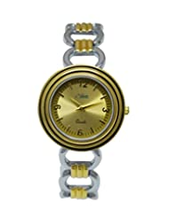 Like Steel Gold Analog Watch - For Girls, Women - B018CU8BHS