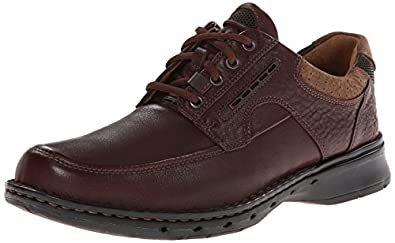 Clarks Unstructured Men's Un.Bend Casual Oxford,Brown,7 M US