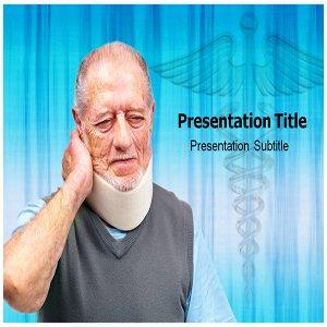 Cervical Neck Pain Powerpoint Templates - Cervical Neck Pain Powerpoint Presentation Background