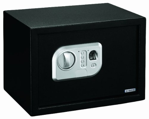Stack-On PS-10-B Biometric Personal Safe with Adjustable Shelf
