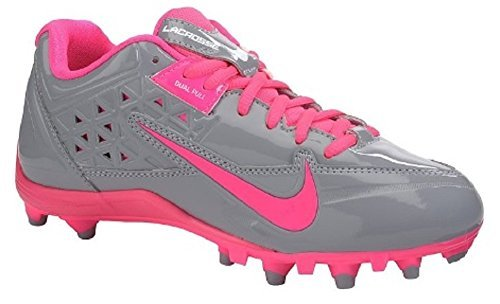 Nike Women's Speedlax 4 Lacrosse Cleats, Stealth/Pink Flash (5.5, Stealth/Pink Flash)