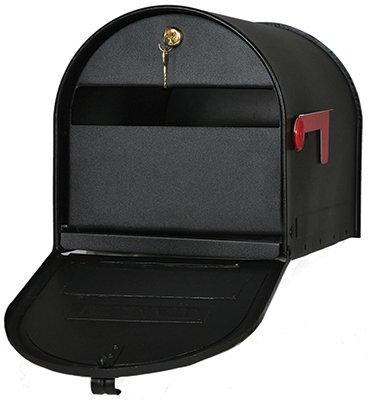 Gibraltar Sdpk0000 Black Heavy Duty Steel Drive In Mailbox