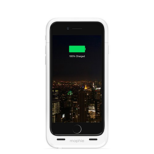 iPhone 6 Battery Case, Mophie [Juice Pack Plus] - 3,300 mAh capacity - White