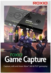 ROXIO GAME CAPTURE - XBOX 360/PS3 (SOFTWARE - PRODUCTIVITY)