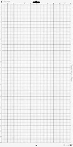 Silhouette America CUT-MAT-24-3T Cameo Cutting Mat, Clear (Color: Clear)