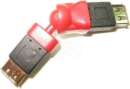 Cablematic - Rotor-Adapter USB (AH/AH)
