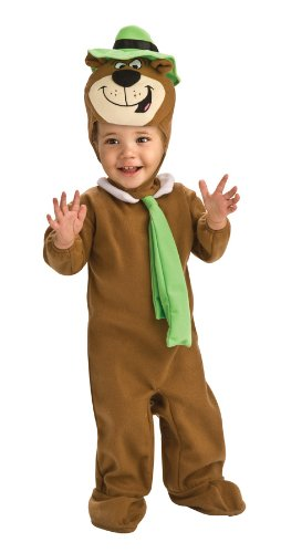 Rubie's Costume Co Baby-boys Newborn Yogi Bear Ez-On Romper Costume