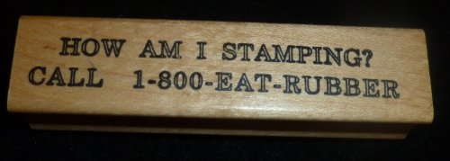 How Am I Stamping Rubber Stamp - 1