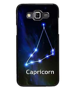 PrintDhaba Zodiac Capricorn D-2810 Back Case Cover for SAMSUNG GALAXY GRAND MAX (Multi-Coloured)