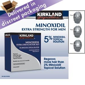 Best Cheap Deal for Kirkland Signature Hair Regrowth Treatment Extra Strength for Men 5% Minoxidil Topical Solution from Kirkland - Free 2 Day Shipping Available