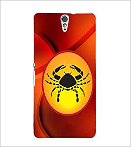 PrintDhaba Zodiac Cancer D-3370 Back Case Cover for SONY XPERIA C5 ULTRA (Multi-Coloured)