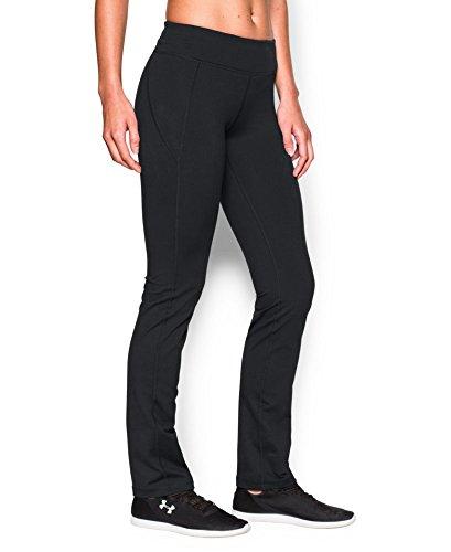 Under Armour Women's Mirror Straight Leg Pant, Black (001), Small