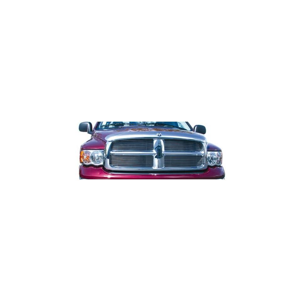 T Rex Grilles 2002   2005  Dodge Ram Pickup  Billet Grille Insert   4 Piece Bolt On   (11 Bars Each)