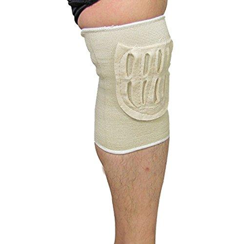 DealMux Athletisch Fitting Gym Beige Elastische Kniebandage