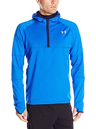Under Armour Sudadera con Capucha No Breaks Run Balaclava (Azul Eléctrico)