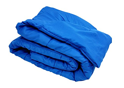 Multiple Sizes - High Quality Oversized Down Alternative Comforter Super Soft 90 Gsm- Royal Blue-King- Exclusively By Blowout Bedding Rn# 142035 front-816083