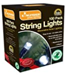 100 Solar String Lights - Garden Ligh...
