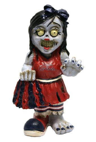 St. Louis Cardinals Zombie Cheerleader Figurine at Amazon.com