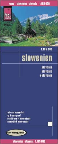 Slovenia Travel Map.